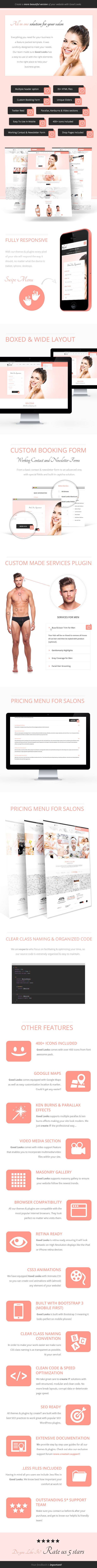 Looks Good - Beauty Salon Template